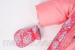 Зимний трансформер с отстёгивающимся мехом для девочки, фото 3