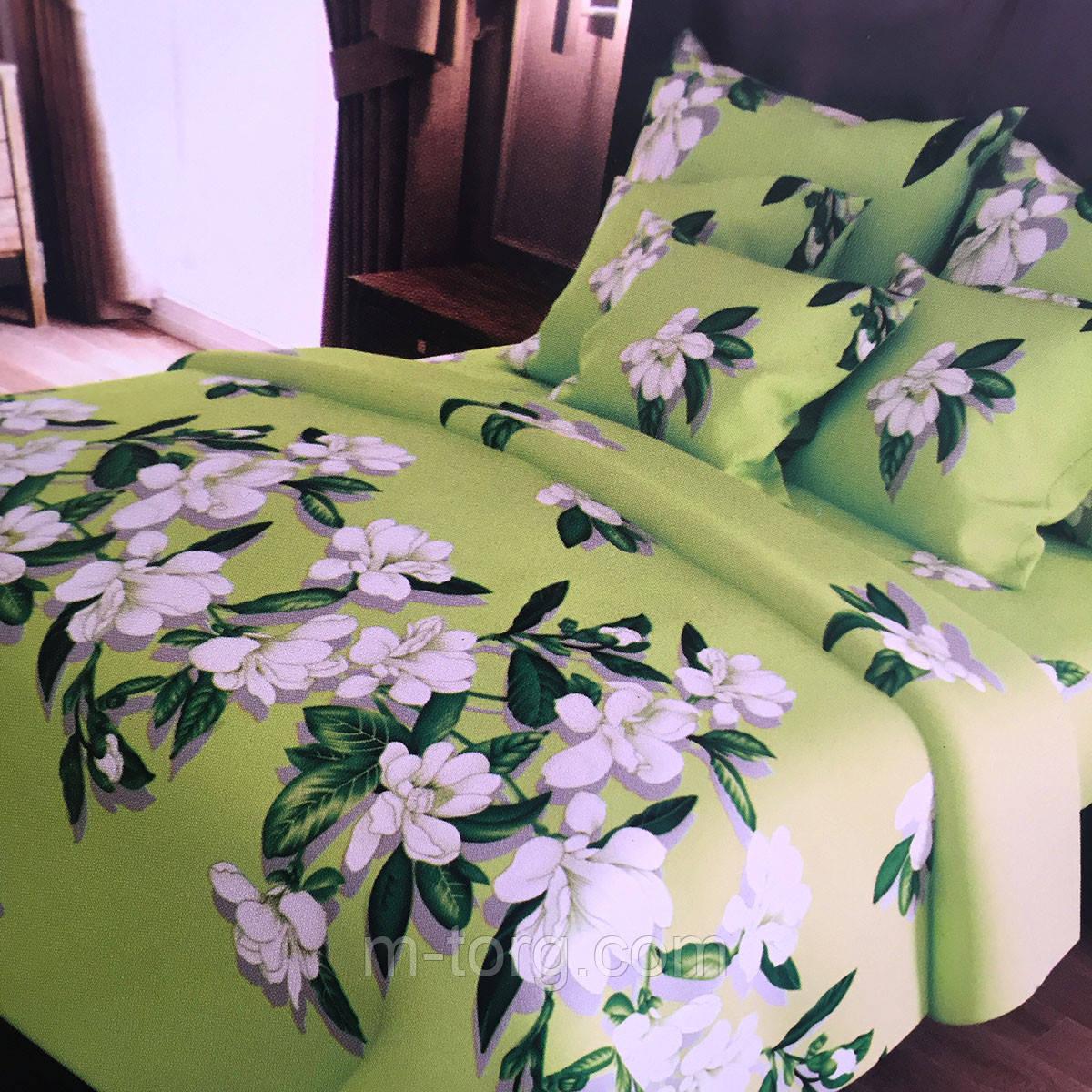 Комплект постельного белья полуторный 150/220, нав-ки 70/70, ткань поплин, 100% состоит из хлопка