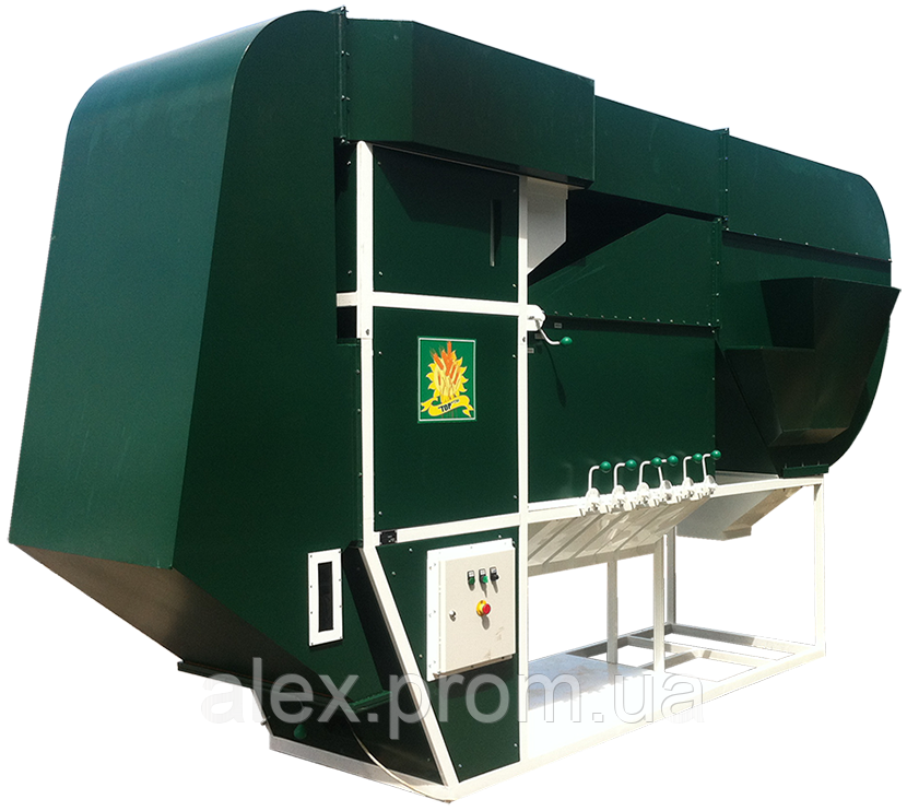 Сепаратор зерна с циклонно-осадочным комплексом ИСМ - 50