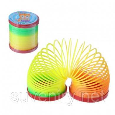 Пружинка радуга детская игрушка средняя