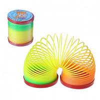 Пружинка радуга детская игрушка средняя, фото 1