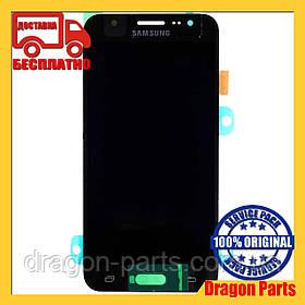 Дисплей Samsung J500 Galaxy J5 с сенсором Черный Black оригинал , GH97-17667B