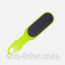 Шлифовальная пилка для педикюра Сталекс Т-01 100/180, зеленая.