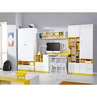 """Меблі в дитячу """"Мобі"""" від Гербор (німфея альба / уніколор жовтий)"""
