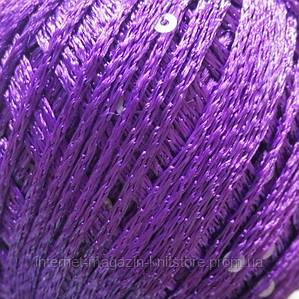 Пряжа YarnArt Lazer Фиолетовый