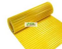 Пластиковый шифер волнопласт жолтый