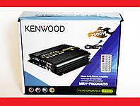Автомобильный усилитель звука Kenwood MRV-F6004X/5S 2500W 4-х канальный Bluetooth, фото 1