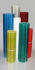 Пластиковый шифер волнопласт зелёный