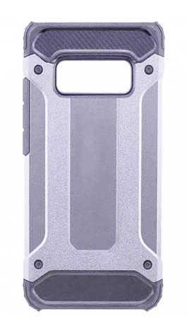 Чехол накладка Spigen (HC) для Samsung Galaxy S10 противоударные Серебристый (974397), фото 2