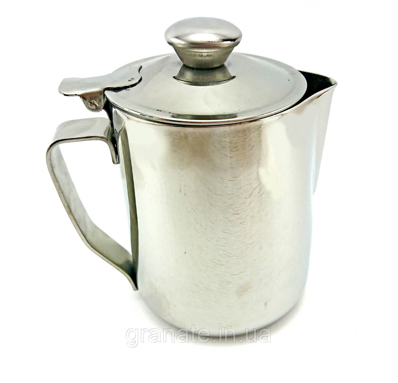 Джаг для молока 500 мл с крышкой питчер молочник Турция