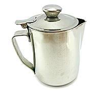 Джаг для молока 500 мл с крышкой питчер молочник Турция, фото 1