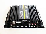 Автомобільний підсилювач звуку Kenwood MRV-F6004X/5S 2500W 4-х канальний Bluetooth, фото 3