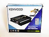 Автомобільний підсилювач звуку Kenwood MRV-F6004X/5S 2500W 4-х канальний Bluetooth, фото 6