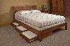 """Кровать двуспальная деревянная """"Уют"""""""