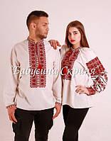 Парні вишиванки.Сорочка жіноча + сорочка чоловіча МВ-108п