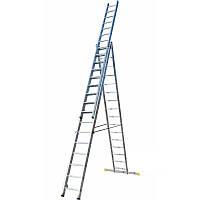 Лестница трехсекционная раскладная ELKOP VHR P 3x13 ступеней