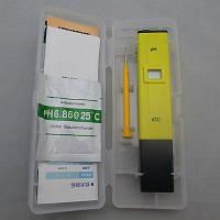 PH метр PH-009 (I) (107) - бюджетный прибор для измерения pH. C температурной компенсацией АТС ( рн-метр )