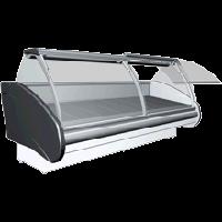 Вітрина холодильна РОСС Delia D-1,7 (з охолоджуваним боксом, динам. охолоджуванням і випуклим склом) (Україна)