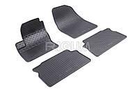 Коврики в салон Ford Focus С-Max 04- Резиновые RIGUM Комплект из 4-х ковриков Черный