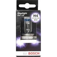 Галогенная лампа H4 60/55W 12V  Gigalight PLUS 120    BOSCH  1987301160 Германия