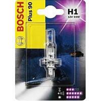 Галогенная лампа  H1 12V 55W  Трафик /  Renault Trafic с 2001 Германия Bosch1 987 301 076 (свет +90%) блисттер