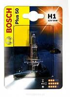 Лампа Bosch H1 12V 55W (Галогенная) (свет +50%) блисттер Трафик /  Renault Trafic с 2001 Германия  1987302019