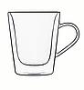 Чашки Luigi Bormioli Thermic glass, чай/кофе, 220 мл, (2 шт.)