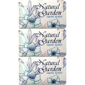 Набор Мыла Nesti Dante Natural Garden sapone neutro (Природный сад - нейтральное мыло) 3 шт*125 грамм