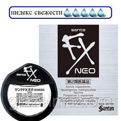 Sante FX Neo освежающие японские глазные капли с таурином от покраснения и усталости