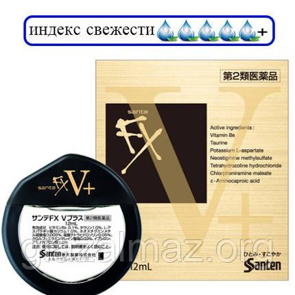 Sante FX V Plus японские капли для глаз с витамином B6, фото 2