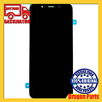 Дисплей Samsung J6 Galaxy J600 2018 Чёрный Black GH97-21931A, оригинал