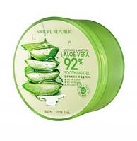 Корея.Многофункциональный увлажняющий гель для лица и тела Nature Republic Soothing & Moisture Aloe Vera 92%