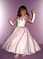 Нарядное детское платье.