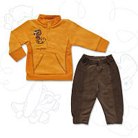 Костюм для мальчика ТМ Фламинго, футер-диагональ (артикул 673-321)