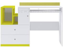 """Письмовий стіл """"Мобі"""" від Гербор (німфея альба / уніколор жовтий)"""