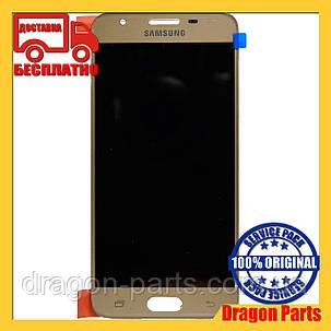 Дисплей Samsung G570 Galaxy J5 prime с сенсором Золотой Gold оригинал , GH96-10324A, фото 2