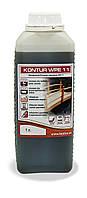 Антисептик для древесины, - грунт KONTUR WPE-11 (ХМ-11) 1 л.