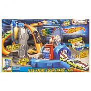 """Игровой набор Hot Wheels / Трек-запуск """"Hot Wheels"""" 7906 / с """"лазером"""" / машинка меняет цвет"""