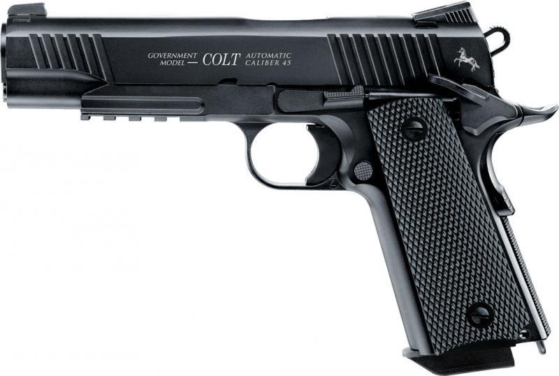 Пневматический пистолет Umarex Colt M45 CQBP