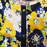 """Жакет женский яркий хлопок блузон джинс стрейч """"Хипи"""" жк 004, фото 3"""