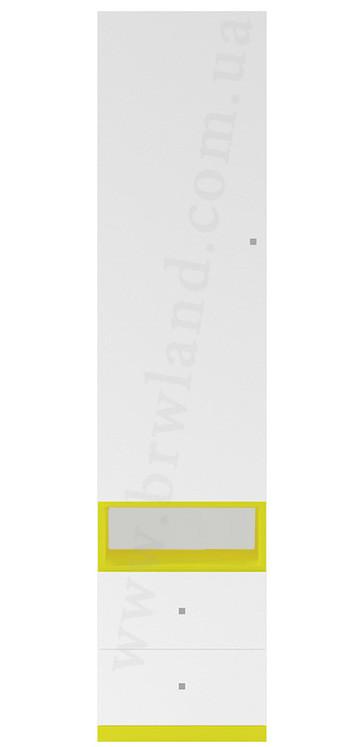 """Пенал REG1D2S """"Мобі"""" від Гербор (німфея альба / уніколор жовтий)"""