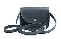 Женская сумка мини на плечо из натуральной кожи Goose™ G0025 синий (ручная работа)