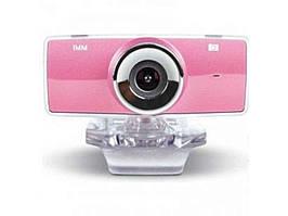 Вебкамера F9 рожева ТМGEMIX