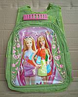 Дешовый школьный рюкзак №21 (салатовый)