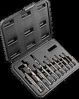 Набор 09-609 Neo экстракторы для высверливания сломанных винтов, 10 шт.