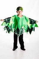 Зеленый листик карнавальный костюм для мальчика \ размер универсальный \ BL - ДО47