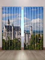 Фотографические шторы «Средневековый замок»