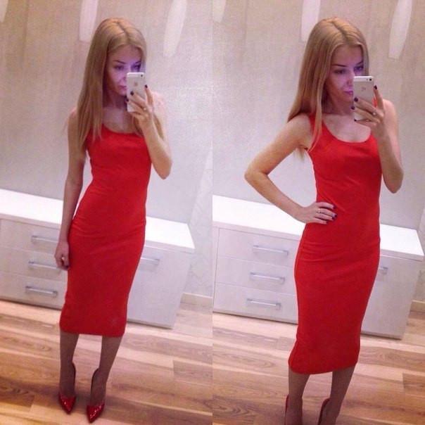 Купить платье миди