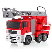 Машинка на пульте управления - Радиоуправляемая пожарная машина Double E 1:20 2.4G - E567-003