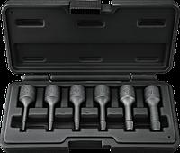 Набор 09-605 Neo экстракторы для высверливания сломанных винтов, 6 шт.